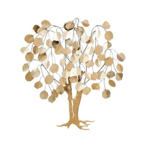 Wand-Objekt Baum, 3D Optik, ca. 80 cm hoch Vorderansicht