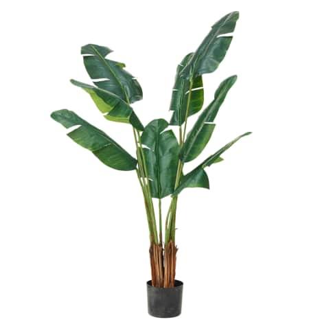 Kunstpflanze Traveller Palme Vorderansicht