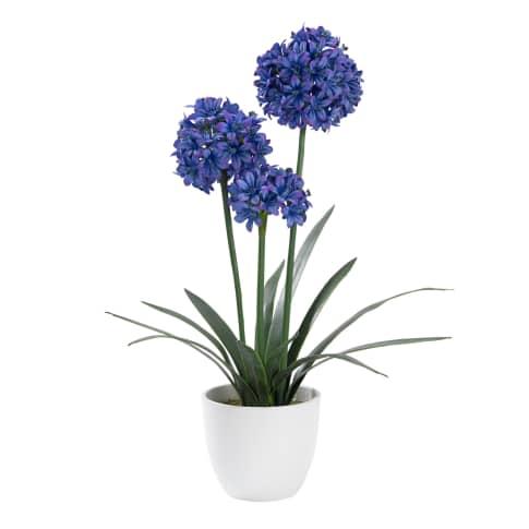 Kunstpflanze Schmucklilie Vorderansicht