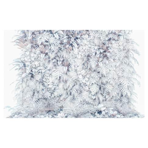 Digitaldruck Fototapete Blumenwand Vorderansicht