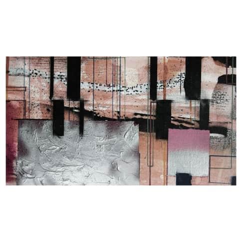 Digitaldruck Fototapete Quadrate Vorderansicht