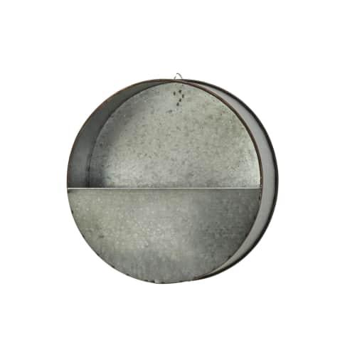 Wand-Pflanztopf RONDO, Antik-Look, Ø 20 cm Vorderansicht