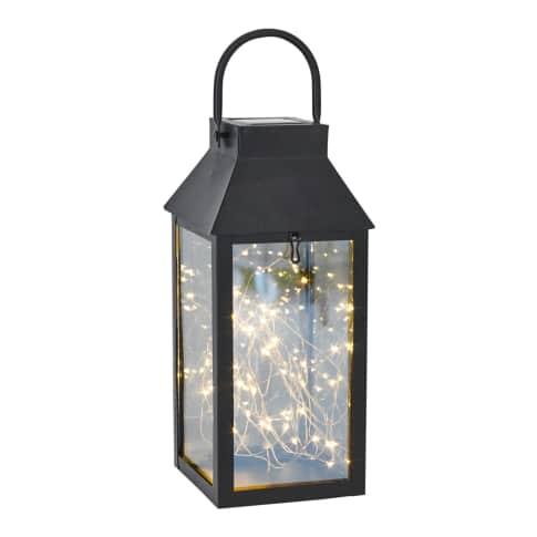 Solarleuchte Lantern, Mit 30 LEDs Vorderansicht
