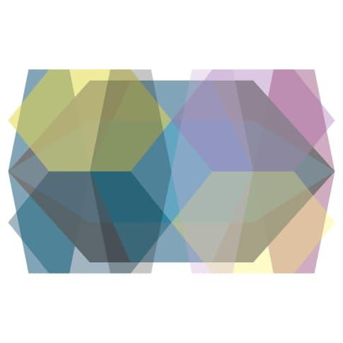 Digitaldruck Fotodruck Farbenspiel Vorderansicht