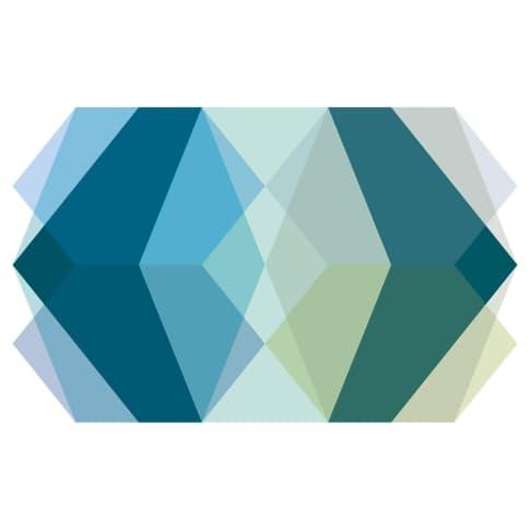 Digitaldruck Fototapete Farbkombinationen Vorderansicht