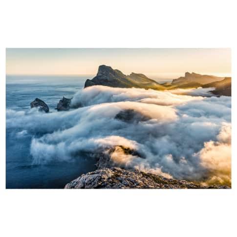 Digitaldruck Fototapete Steilküste Vorderansicht