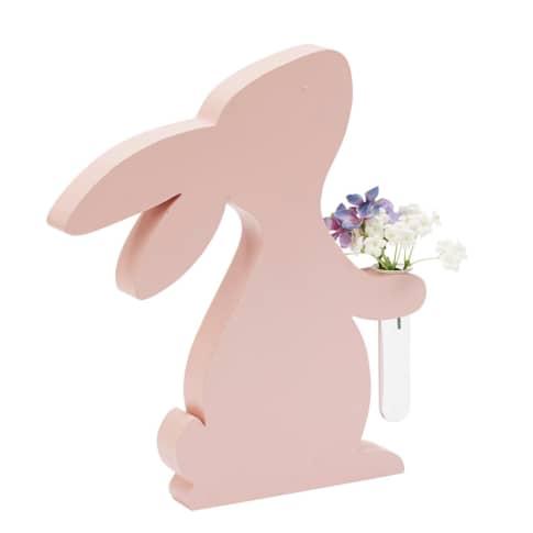 Deko-Figur Minivase Hase Vorderansicht