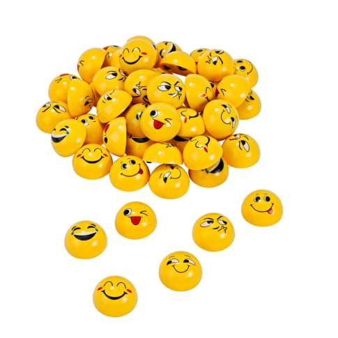 Flitzer-Set, 50-tlg. Emojis Vorderansicht