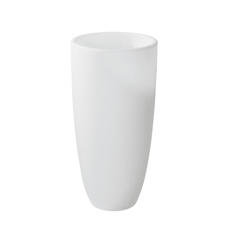 LED-Deko-Leuchte Pflanztopf, ca. H100 cm Vorderansicht