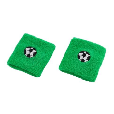 Schweißbänder,12-tlg. Soccer Vorderansicht