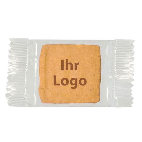 Guter Keks Single, Keks-Druck 1c, verpackt im Flowpack, je ca. 6g Vorderansicht