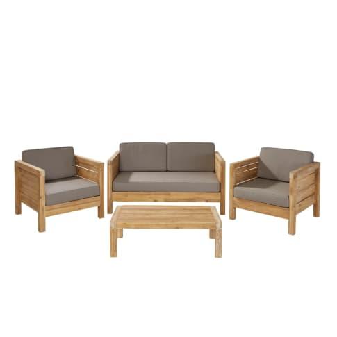 Outdoor-Lounge-Set, 4-tlg. Modeno Vorderansicht