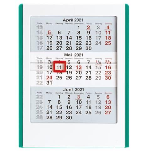 Mini-3-Monats-Kalender Vorderansicht