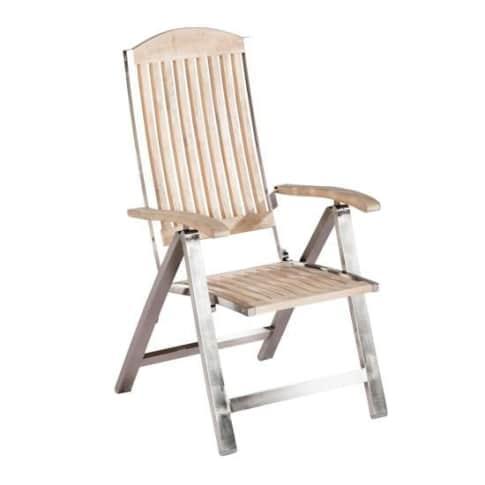 Outdoor-Stuhl Korfu Vorderansicht