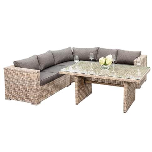 Outdoor-Lounge-Set Bari Vorderansicht