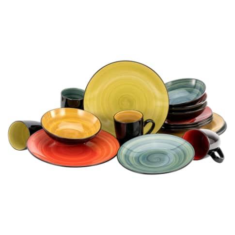 Geschirr-Set 16-tlg. Djerba Vorderansicht