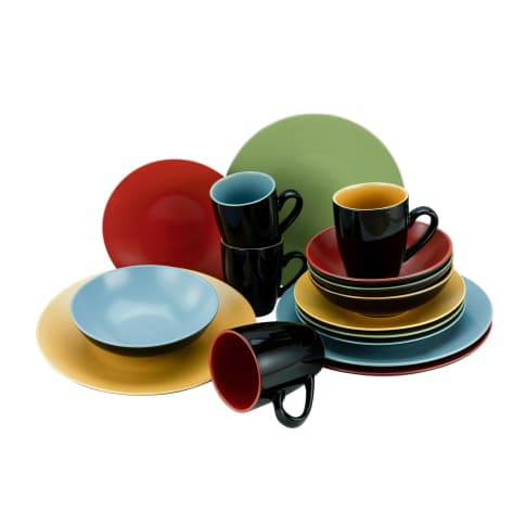 Geschirr-Set 16tlg. Colour Vorderansicht