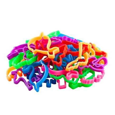 Armbänder-Set, 72-tlg. Crazy Rubber Bands Vorderansicht