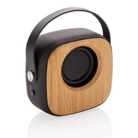 Wireless Speaker Bambus Fashion Vorderansicht