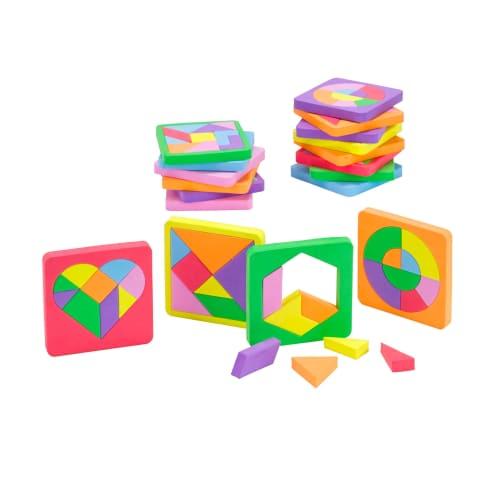 Puzzle-Set, 18-tlg. Clever Vorderansicht