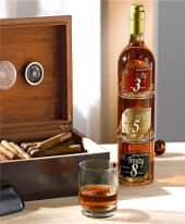 Whisky-Set, je 250ml, stapelbar, Glas Inszeniertes Bild