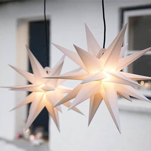Beleuchtetes Deko-Objekt Stern, Polypropylen Inszeniertes Bild