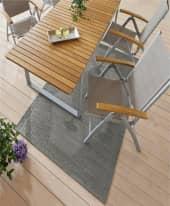 Outdoor-Teppich Nima, 100% Polypropylen, ca. 120 x 180 cm Inszeniertes Bild