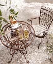 Spar-Set Outdoor-Möbel-Set, 3-tlg. Versailles Inszeniertes Bild