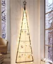 Christbaumkugel-Set Sterne, 2-tlg., Sternapplikation, Glas, Durchmesser ca. 8 cm Inszeniertes Bild