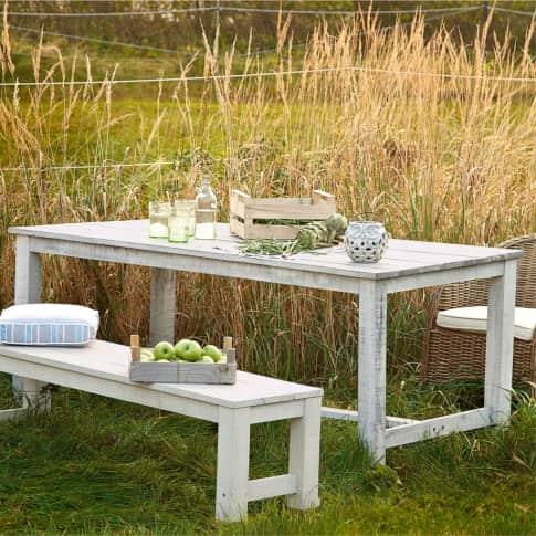 Outdoor-Tisch, groß Lordi, Esstisch, rechteckig, klassisch, Holz, ca. B100 x L200 x H78 cm Inszeniertes Bild