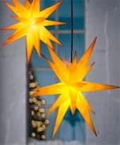 Beleuchtetes Deko-Objekt Stern, langlebig, Polypropylen Inszeniertes Bild