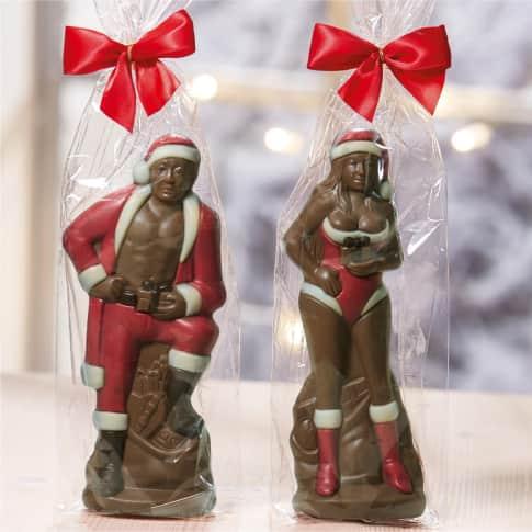 Sexy Weihnachtsmann, 150g, ca. 150g, ca. B9xT8xH20 cm Inszeniertes Bild