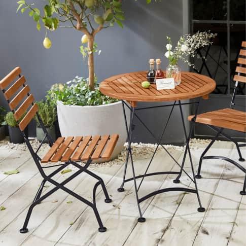 Outdoor-Stuhl-Set, 2-tlg. Bellagio Inszeniertes Bild