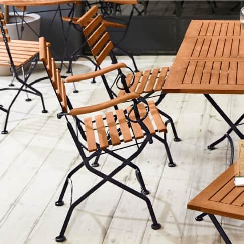 Outdoor-Sessel, mit Armlehnen Bellagio Inszeniertes Bild