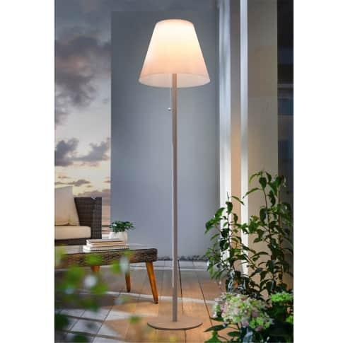 Solar-Standleuchte Neo, 8 LEDs, Kunststoff, Metall, Höhe ca. 158 cm Inszeniertes Bild