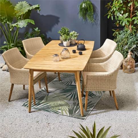 Outdoor-Tisch Dover Inszeniertes Bild