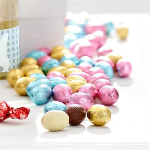 Schokoladen-Ostereier, 1 kg Sarisa Inszeniertes Bild