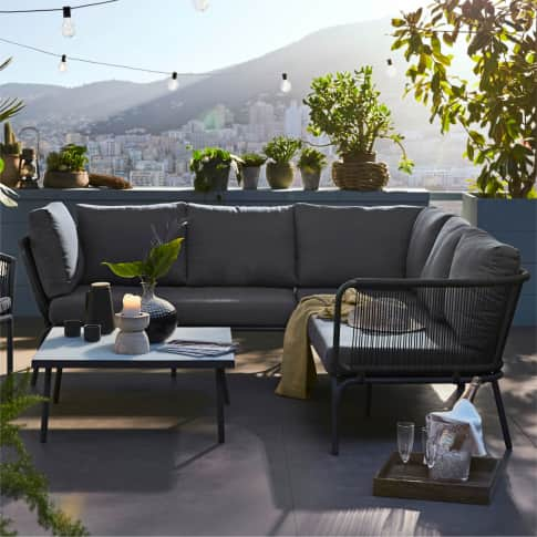 Outdoor-Lounge-Set, 2-tlg. Verona Inszeniertes Bild