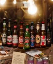 Bier-Set 9-tlg. Biere der Welt Inszeniertes Bild