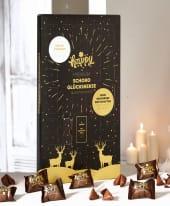Adventskalender Happy, 25 Schokoglückskekse, inkl. Sammelalbum Inszeniertes Bild