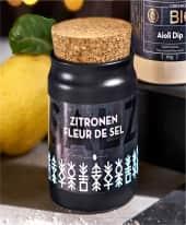 Salz im Tontopf Zitronen Fleur de Sel, ca. 100g Inszeniertes Bild