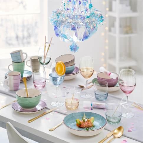 Weinglas-Set, 4.tlg. Happy Inszeniertes Bild