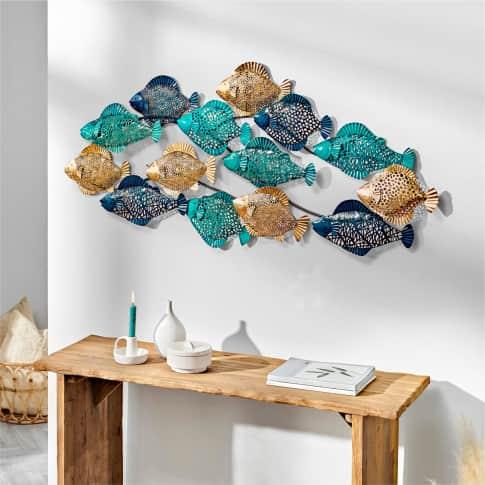Wand-Objekt Fische Inszeniertes Bild