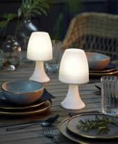 LED-Outdoor-Tischleuchte Lani Inszeniertes Bild