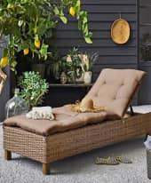 Outdoor-Liege Florenz, Gartenliege Outdoorliege Inszeniertes Bild