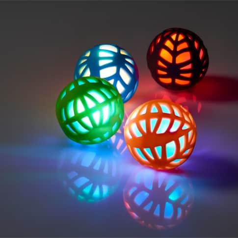 Ball-Set, 8-tlg. SPORT, mit LED-Wechsellicht, ca. 6 cm Durchmesser Inszeniertes Bild