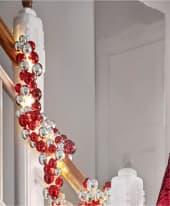 LED-Girlande Glam, 190 cm mit 144 MLED Inszeniertes Bild
