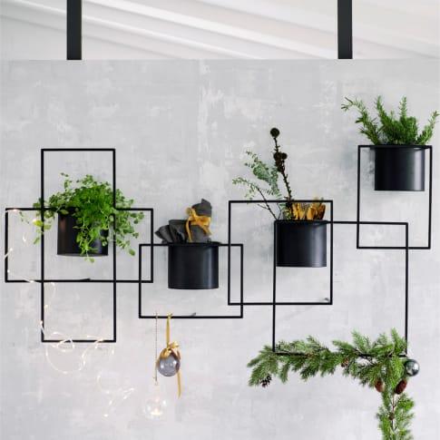 Wand-Objekt Pflanztopf Inszeniertes Bild