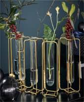 Deko-Vase Reagenzglas Inszeniertes Bild