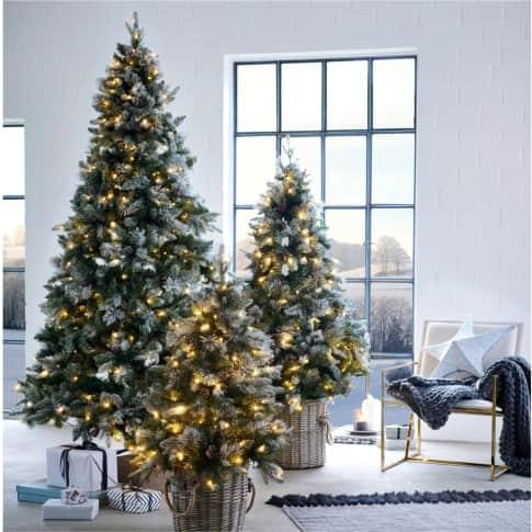 LED-Tannenbaum Schnee Inszeniertes Bild